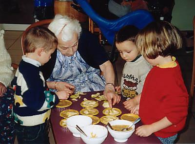 activité cuisine à la maison de retraite